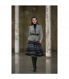 Dorothea Jacket in grey by Lena Hoschek Tradition - AW21/22 autumn/winter collection