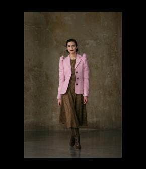 Darcy Jacket tea rose by Lena Hoschek - AW21/22 autumn/winter collection - Biedermeier