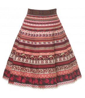 "Lena Hoschek Ribbon Skirt in ""ethno kiss"""