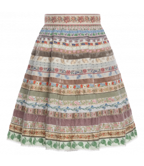 "Ribbon skirt ""Sommerwiese"" by Lena Hoschek Tradition - SS20 summer collection"