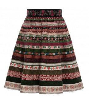 "Ribbon skirt ""Waldwiese"" by Lena Hoschek Tradition - SS20 summer collection"
