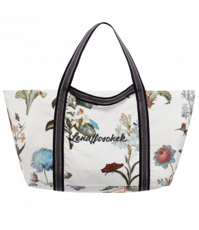 Lena Hoschek Aeki bag flowers white - Season of the Witch - SS20 - FS20 - Lena Hoschek Aeki Tasche in Weiß mit Blumen