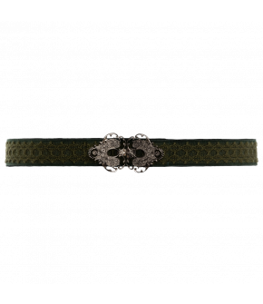 "Waist belt ""Nachtigall"" with traditional buckle from Lena Hoschek Tradition"