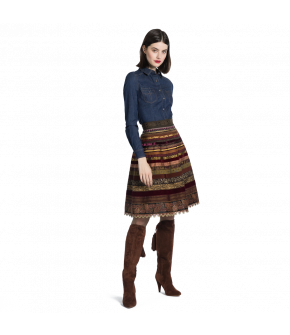 Ribbon Skirt by Lena Hoschek
