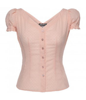 Lena Hoschek Essence blouse soft blush in pink - Season of the Witch - SS20 - FS20 - Lena Hoschek Essence Bluse in Rosa