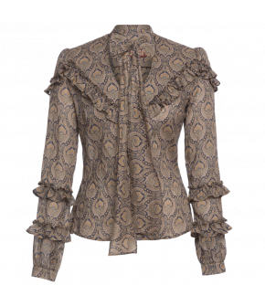 "Fortune Teller blouse ""glory"" by Lena Hoschek - Artisan Partisan - Autumn/winter collection AW20/21"