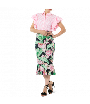 Havanna Skirt tropical pink by Lena Hoschek - Tutti Frutti Spring / Summer 2019