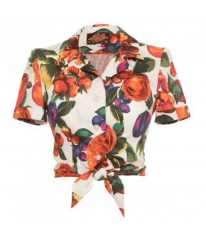 Blouse Summer Love fruit salad - Lena Hoschek Tutti Frutti Spring / Summer 2019