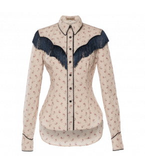 "Lena Hoschek Cowboy inspired blouse ""Rodeo"" - Autumn / Winter 19-20 - Men At Work"