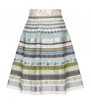 Classic Ribbon Skirt Morgentau - SS21 summer collection - Lena Hoschek Tradition