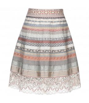 Classic Ribbon Skirt petite amie by Lena Hoschek - SS21 summer collection - Antoinette's Garden