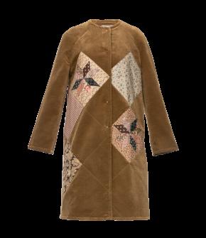 Heirloom Coat by Lena Hoschek - AW21/22 autumn/winter collection - Biedermeier