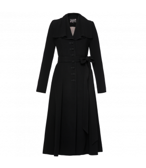 Lena Hoschek black Temptation coat - Season of the Witch - SS20 - Summer collection 2020