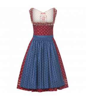 "Cotton Dirndl with decorative frill neckline ""Carola"" by Lena Hoschek Tradition - Summer collection 2018"