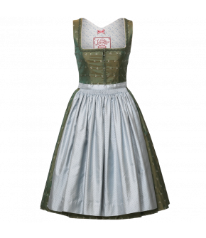"Lena Hoschek silk Dirndl with braid ornaments ""Carolina"""