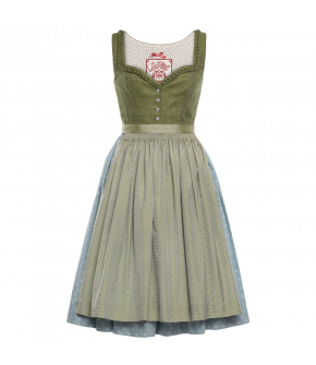 """Frühlingserwachen"" dirndl by Lena Hoschek Tradition - SS20 summer collection"