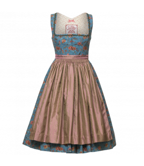"Cotton Dirndl with decorative edging ""Gabrielle"" by Lena Hoschek Tradition - AW 17/18 collection"