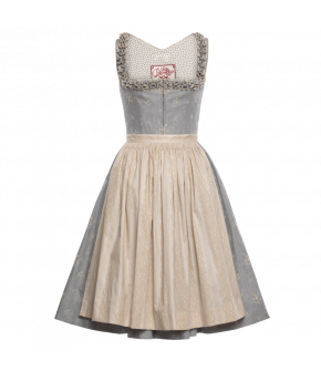 "Blue dirndl ""Holler"" by Lena Hoschek Tradition - SS20 summer collection"