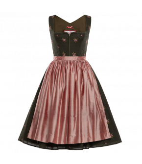 "Black dirndl ""Waldlicht"" by Lena Hoschek Tradition - SS20 summer collection"