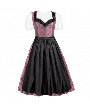 """Genoveva"" silk dirndl by Lena Hoschek Tradition"