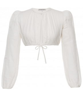 "White dirndl blouse ""Josefine"" by Lena Hoschek - Tradition - Autumn/Winter 2019/20"