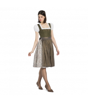 Squarenecked Dirndl by Lena Hoschek - Autumn Winter 2019/20