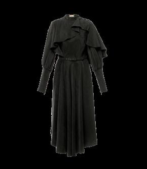 Adelaide Dress in black by Lena Hoschek - AW21/22 autumn/winter collection - Biedermeier