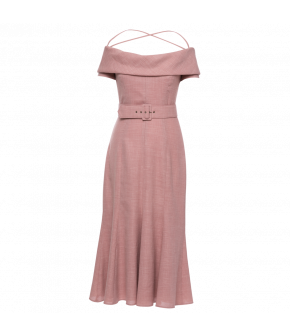 Aimée Dress rosé by Lena Hoschek - SS21 summer collection - Antoinette's Garden