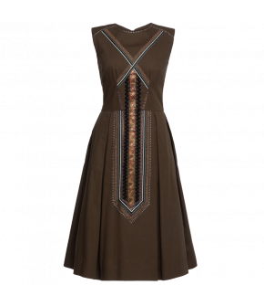 "Sleeveless dress ""Althea"" by Lena Hoschek - Artisan Partisan - Autumn/winter collection AW20/21"