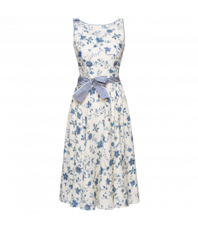 Amélie Dress impérial bleu by Lena Hoschek - SS21 summer collection - Antoinette's Garden