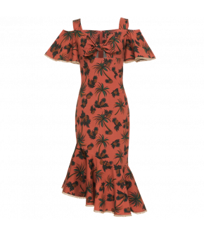 Bella Vista Dress rouge by Lena Hoschek - Tutti Frutti Spring / Summer 2019