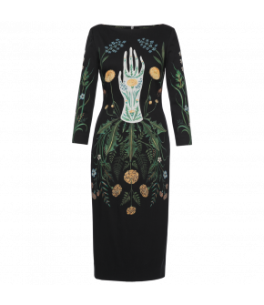 Lena Hoschek Circle of Life dress - Season of the Witch - SS20