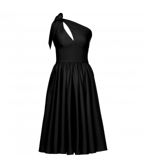 Lena Hoschek Coquette dress in black - Season of the Witch - SS20 - FS20 - Lena Hoschek Coquette Kleid in Schwarz - Summer 2020