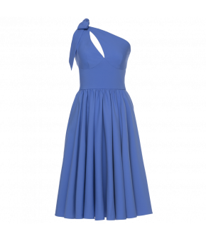 Lena Hoschek Coquette dress cornflower - Season of the Witch - SS20 - Lena Hoschek Coquette Kleid in Blau - FS20 - Lena Hoschek Summer 2020