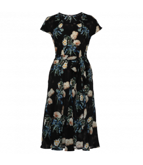 Lena Hoschek Destiny dress tulip black - Season of the Witch - SS20