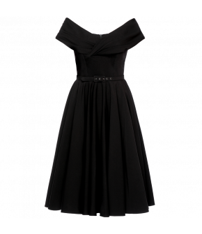 Lena Hoschek Divina dress black - Season of the Witch - SS20  - Lena Hoschek Divina Kleid in Schwarz - FS20