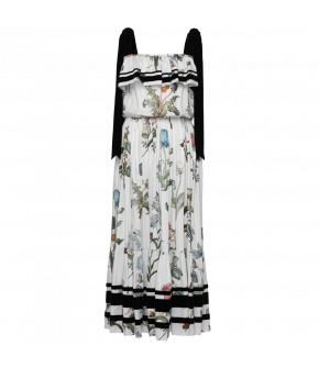 Lena Hoschek Enchanted dress flowers white - Season of the Witch - SS20
