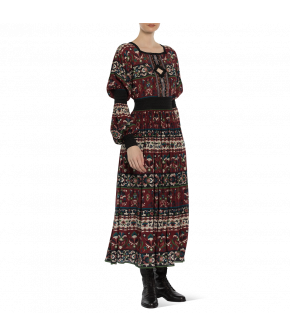 Dress Folk Art by Lena Hoschek - Artisan Partisan - Autumn/winter collection AW20/21