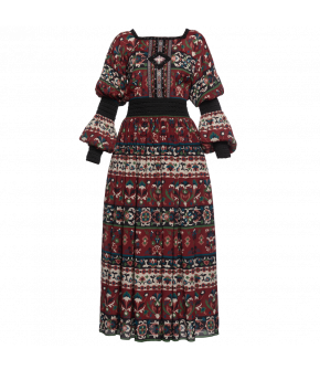 Folk Art Dress