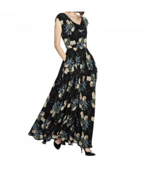 Lena Hoschek Fortune dress tulip black - Season of the Witch - SS20