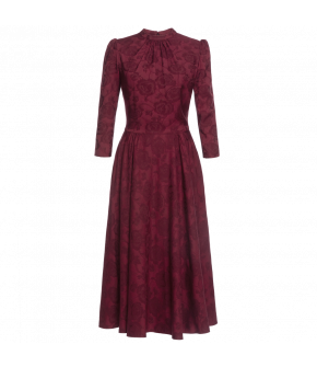 """Georgia"" dress by Lena Hoschek - Artisan Partisan - Autumn/winter collection AW20/21"