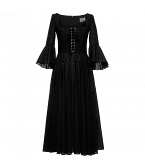 "Lena Hoschek Dress ""Gwendolyn"" in black - Season of the Witch - SS20 - Summer 2020"