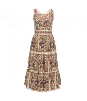 Jardin Dress with flowers by Lena Hoschek - SS21 summer collection - Antoinette's Garden