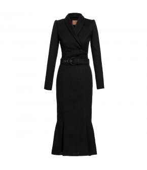 Lena Hoschek Dress Legend in black - Artisan Partisan - Autumn/winter collection AW20/21