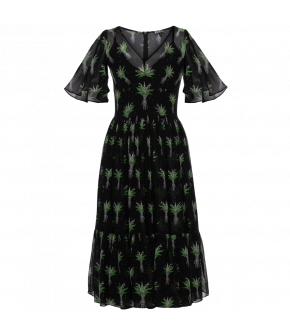 Lena Hoschek Melancholia Dress black valley - Season of the Witch - SS20