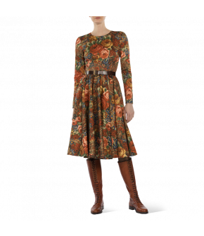 Lena Hoschek Dress Nancy - Artisan Partisan - Autumn/winter collection AW 20/21