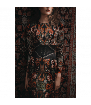 """Riad dress"" by Lena Hoschek - Artisan Partisan - Autumn/winter collection AW20/21"