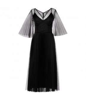"Black transparent ""Seducer"" dress by Lena Hoschek - Season of the Witch - SS20 summer collection"