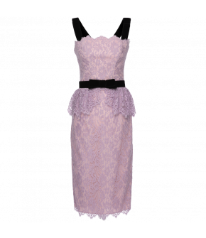 "Purple dress ""Wisteria nostalgia"" by Lena Hoschek - Summer collection 2020 Season of the Witch"