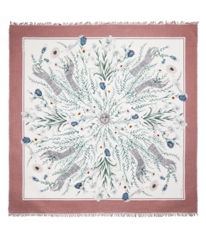 "Lena Hoschek Foulard ""Magic of Spring"" in blush - SS20 - Season of the witch"
